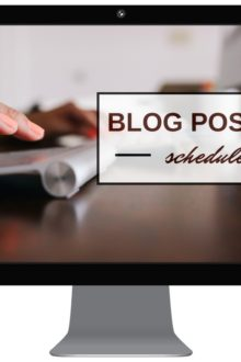Sunburnt Saver's Blog Posting Schedule