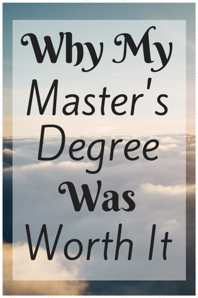 Going to graduate school was one of the best things I could have done for my finances - here's why it worked for me and why it might be good for you! via @sunburntsaver