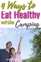 ways to eat healthy camping