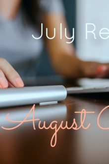 july recap and august goals