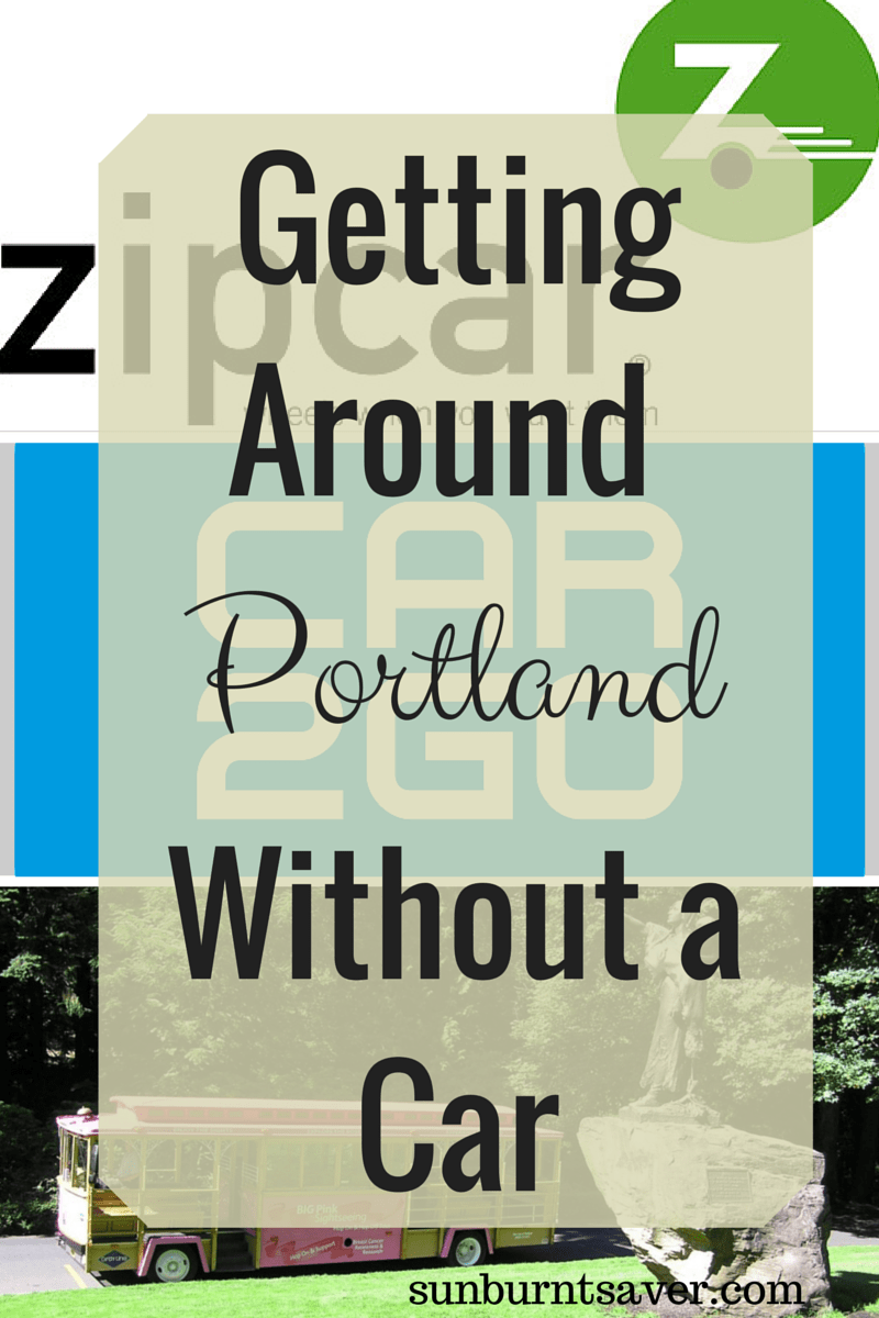 Getting around Portland without a car via @sunburntsaver