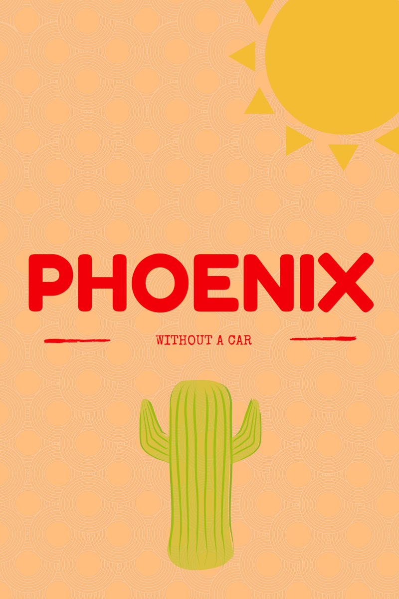 Traveling to Phoenix and don't want to rent a car? It's totally possible! Here's a list of fun things to do in downtown Phoenix via @sunburntsaver
