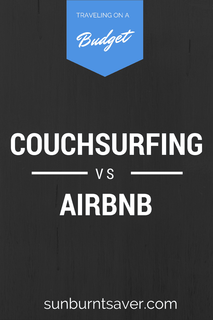 Couchsurfing vs AirBnB