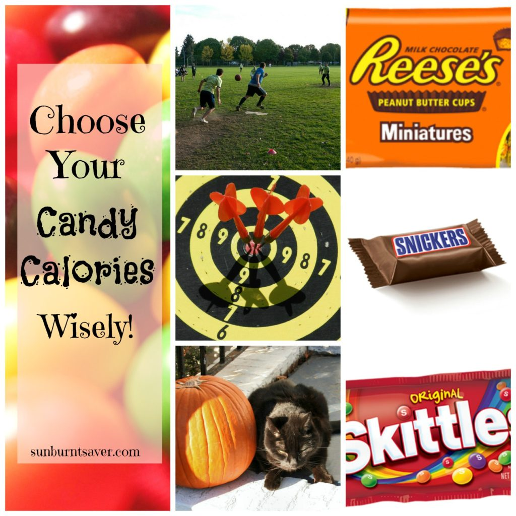Choosing Your Halloween Candy Calories Wisely via @sunburntsaver