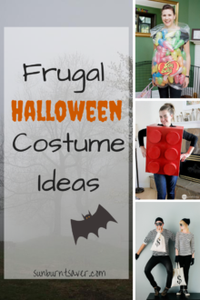 Inexpensive Adult Halloween Costume Ideas via @sunburntsaver