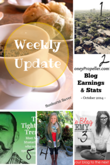 Happy end of November! Catch up on Sunburnt Saver's Weekly Update and week 5 link love! via @sunburntsaver