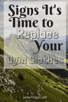 When should you get new gym clothes? Here are some guidelines to follow when considering replacing your gym wardrobe!