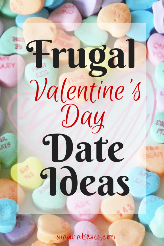 Looking for frugal Valentine's Day date ideas? Look no further than these frugal, fun and romantic ideas!