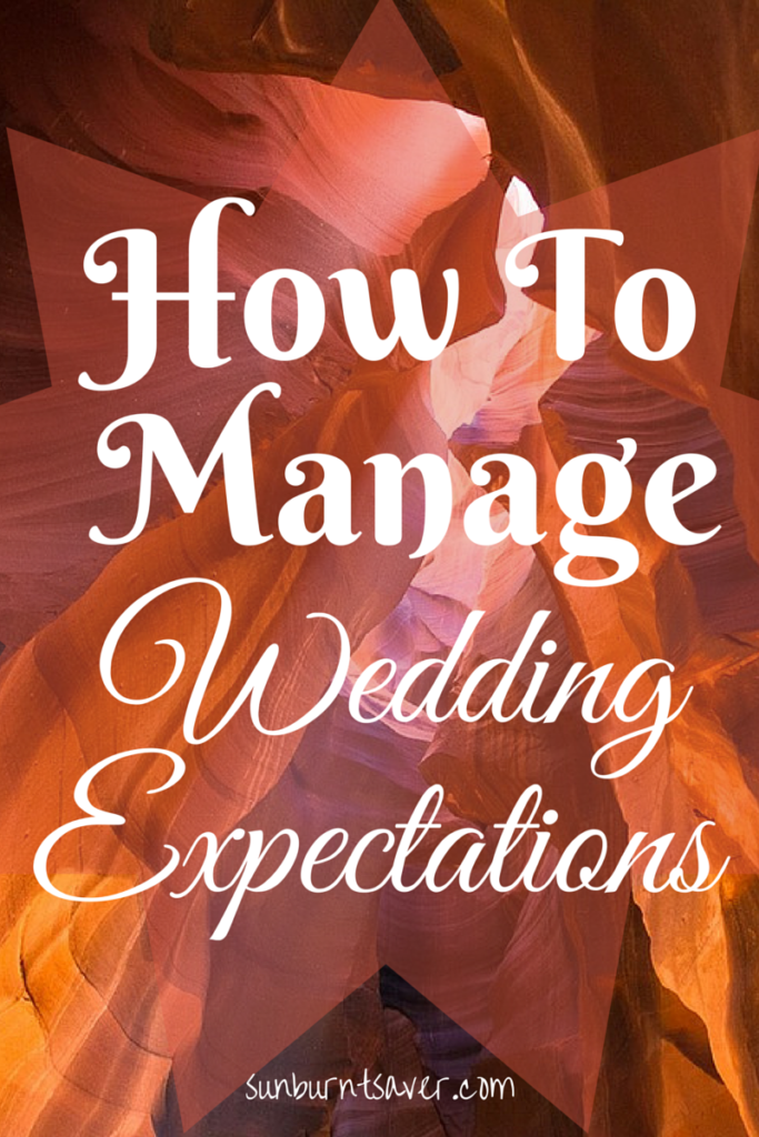 How to Handle Wedding Expectations