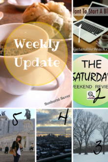 Catch up with Sunburnt Saver and my favorite posts around the web in this week's Weekly Update!