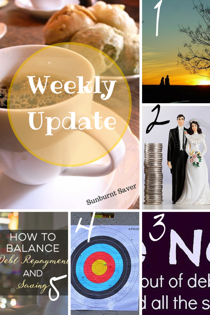 Catch up on the week at Sunburnt Saver and my favorite Best of the Web for this Valentine's Day week!
