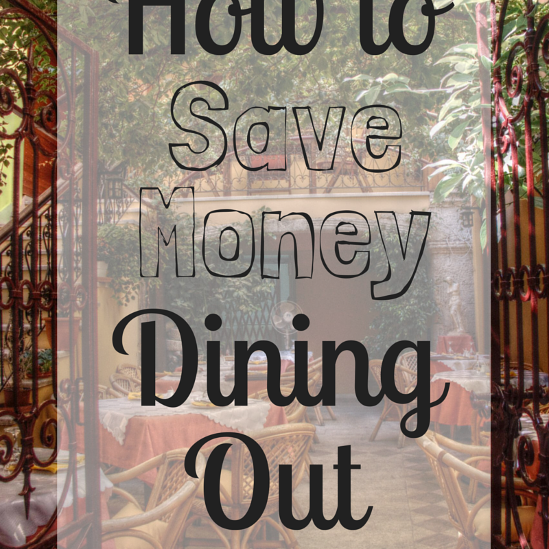 How to Save Money Dining Out