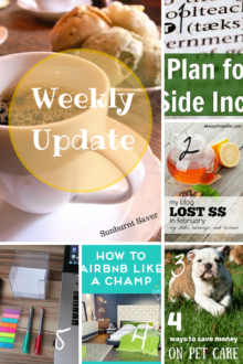 Miss out on posts from Sunburnt Saver this week? Catch up with this week's Weekly Update for posts you missed and the best of the web! via @sunburntsaver