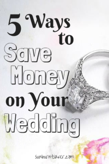 Trying to plan an affordable wedding? Here are 5 ways to save money without looking cheap!