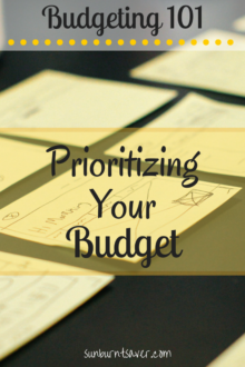 What matters most to you in life? Use that guideline to establish your budget - it will drive everything you do!