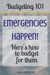 Think your budget is complete without an emergency fund? Think again! Emergencies strike anyone, usually at the worst times. Why be unprepared?