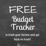 Saturday Budget Tracker Day!