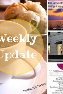 The last weekend in May - a recap of stuff around Sunburnt Saver & the web!