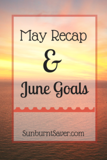 My May Recap and June Goals - how did I do this month? How did your May goals go?