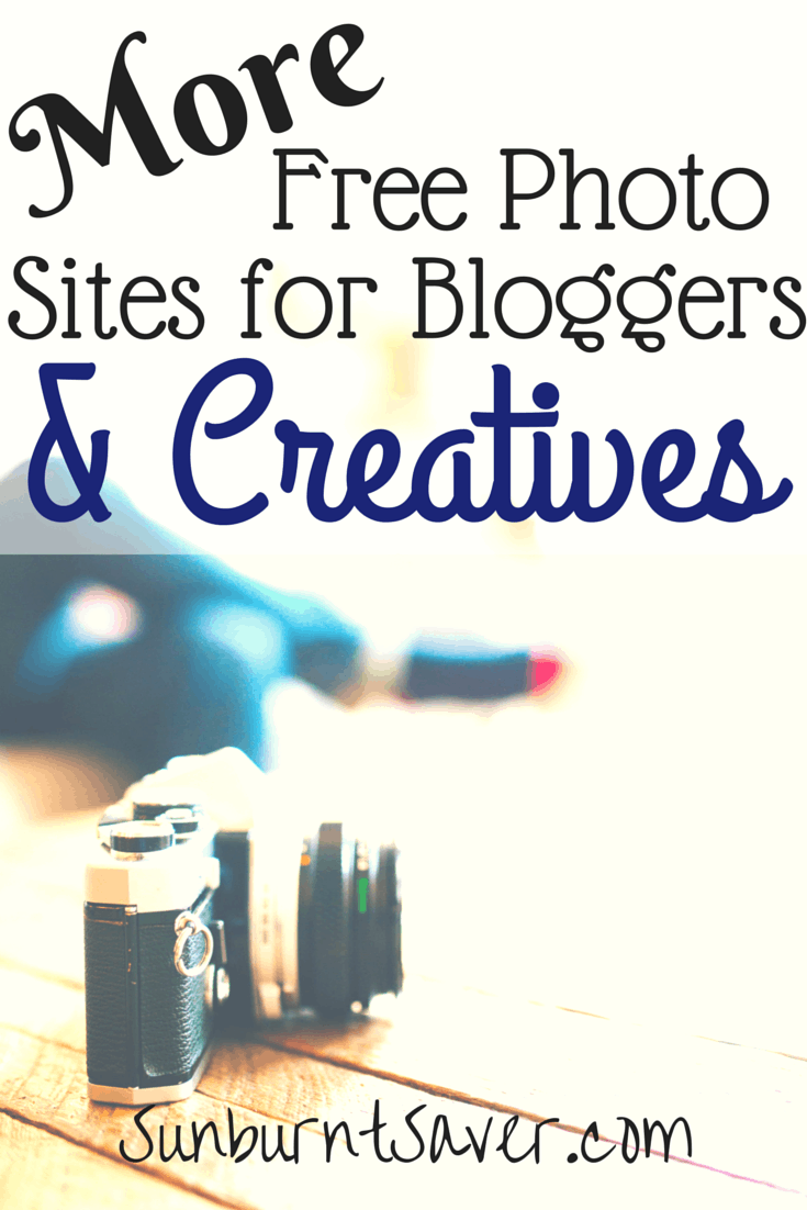 Looking for the best high-quality, free photo sites for bloggers and creatives? Here are several awesome and FREE photo sites out there via @sunburntsaver