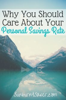 Are you one of the millions of Americans without any savings? What having a personal savings rate means for you!