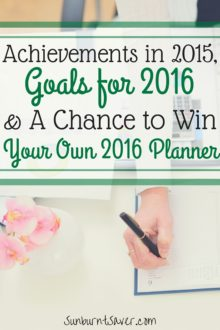 Planners are a pretty indispensible part of my life: without my planner, my life would collapse! Check out my goals for 2016, with the help of my planner, plus a chance to win your own 2016 AT-A-GLANCE planner! #MyAAG #IC #ad