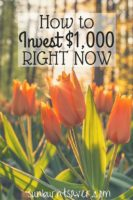 How to Invest $1,000 Right Now