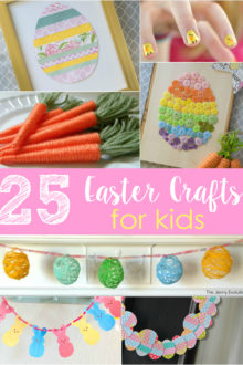25 Easter crafts for kids