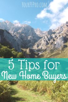 Want to buy your own home but don't know where to start? Here are 5 tips from a recent home buyer on how you can be most successful at buying a house!