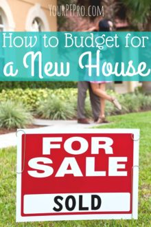 Thinking about purchasing a new house? Here's how you can budget for a new house without struggling!
