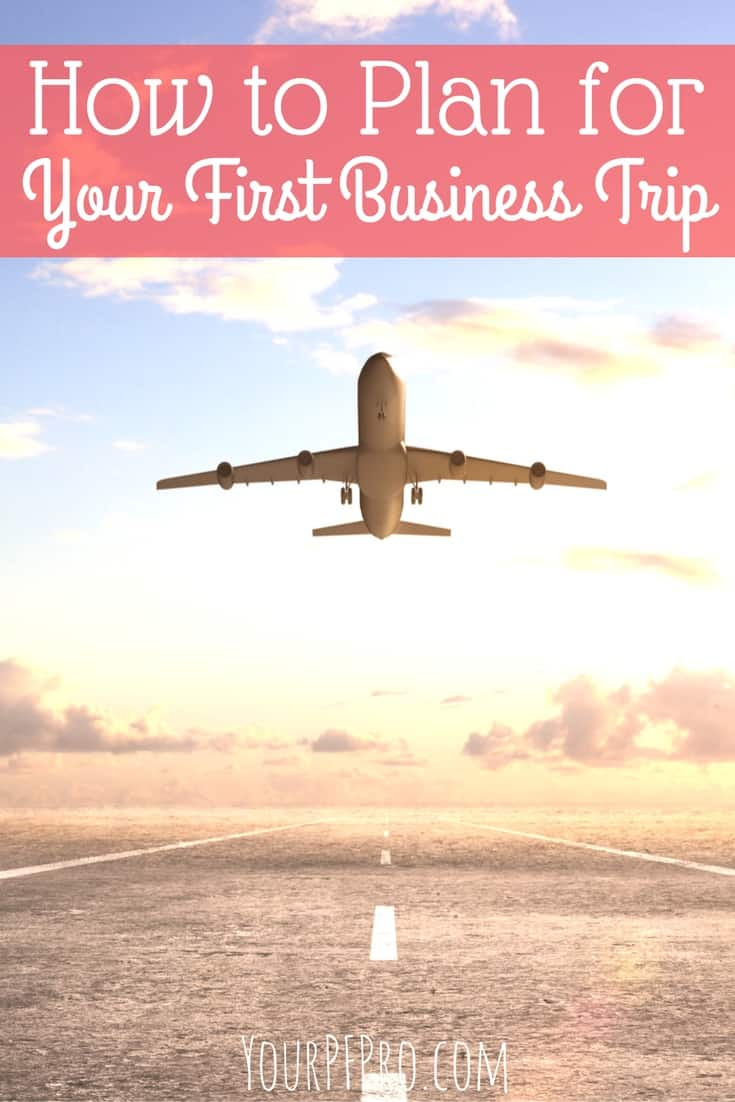 How to plan a business trip