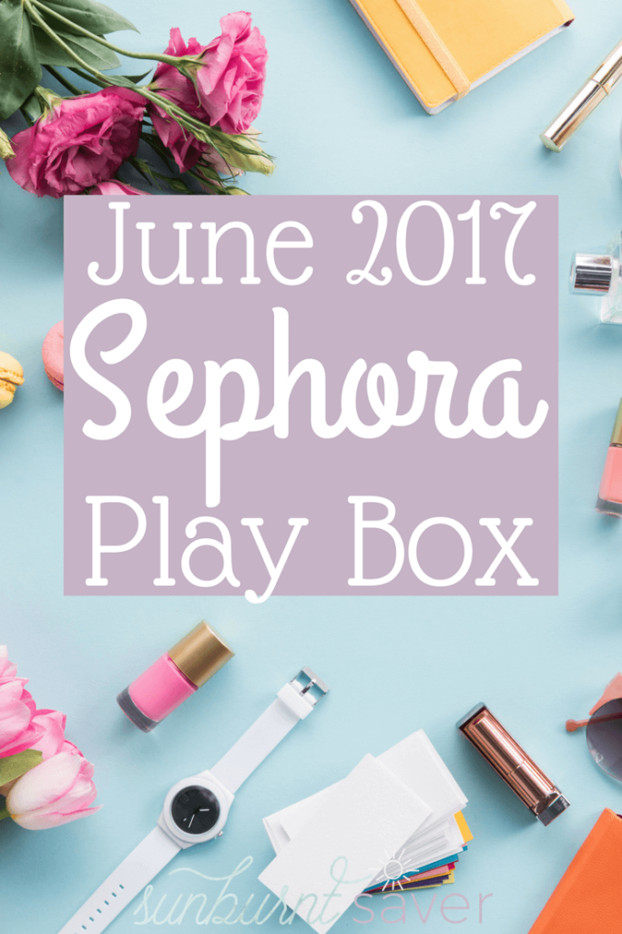 Curious to see what was in the June 2017 Sephora Play Box? Check out this review on the best products in the June 2017 Sephora subscription box!