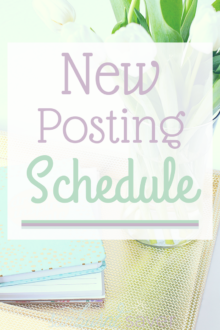 Sunburnt Saver now has a new posting schedule! Stop by on Tuesdays, Thursdays and Saturdays for the latest from Sunburnt Saver.