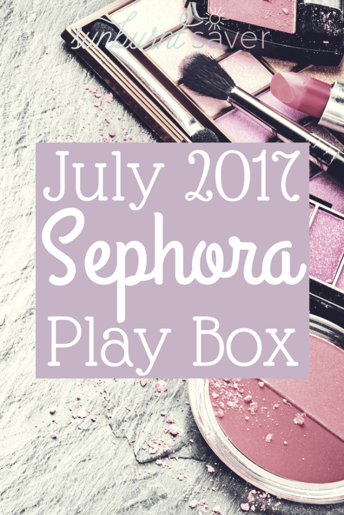 "Curious to see what's in the July 2017 Sephora Play Box? The theme of this month was ""Glamp Out"" and there were some pretty interesting products in the Play Box... click here to check it out!"