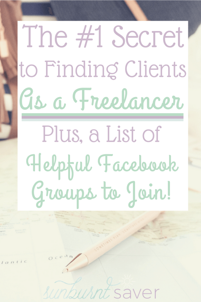 Do you want to start a side hustle working as a freelance writer, freelance virtual assistant, or freelance social media manager? You might be wondering how to find clients. Here's my #1 secret to finding freelance clients!
