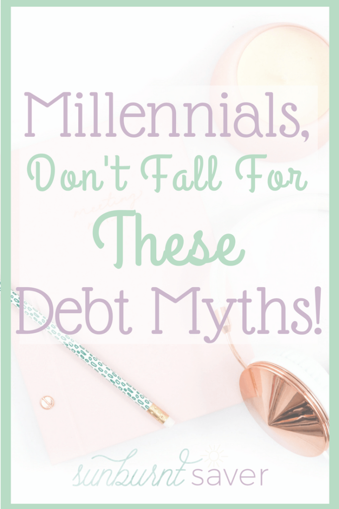 After graduation, a lot of Millennials fall into debt and credit myths that hold them back from improving their credit. Don't fall for these myths!
