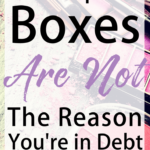 Subscription boxes are not the reason why you're still in debt, but there are times when subscription boxes do and don't make sense.