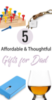 Looking for some affordable and thoughtful gifts for Dad? You're not alone! I've rounded up the best gifts for Dad based on years of experience :)