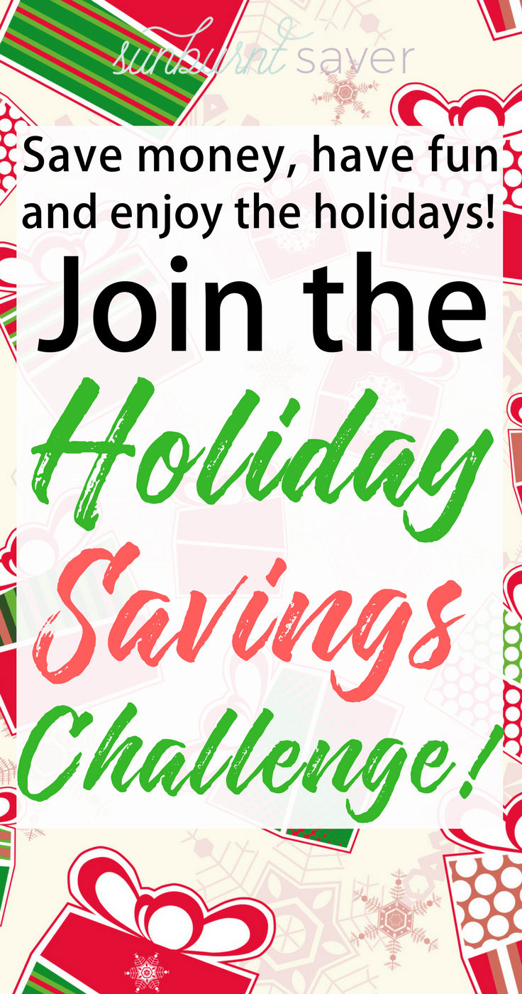Love seeing your family's faces light up with the great presents you bought? You don't have to go into debt to have a fabulous Christmas! Sign up for your Holiday Savings Challenge today!