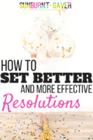 How to set better resolutions in 2019