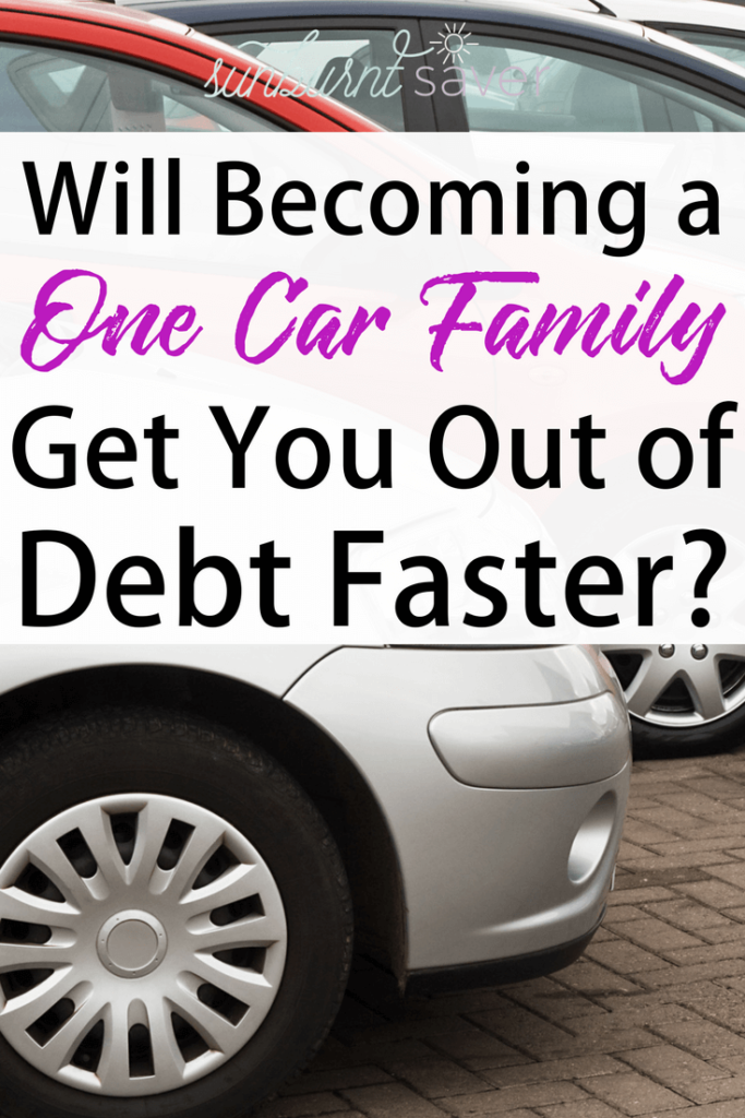Have you ever thought about becoming a one-car family so you could pay off debt faster? It could be a good idea - in certain circumstances. Here are the pros and cons of becoming a one-car family.