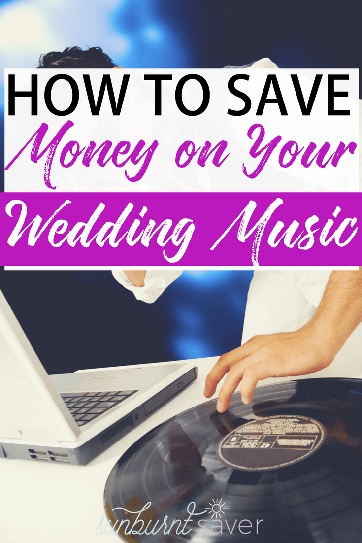 Looking for tips on saving money on your wedding? Here are three ways to save money in your wedding budget - specifically on your wedding music!