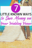 If there's only one thing you remember from this article: book your wedding venue early! Plus, six more tips on saving money on your wedding venue.