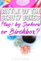 Which is better between the beauty subscription boxes - Play! by Sephora or Birchbox? Here's why I switched to Birchbox in the Play by Sephora vs Birchbox debate!
