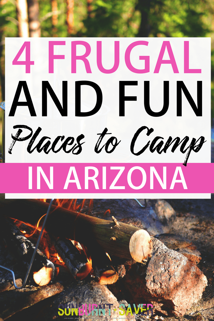 It's almost summertime, and you know what that means - travel! You probably already know that camping is one of my favorite ways to frugally travel, and I have a lot more camping articles coming up for you soon! Until then, I wanted to highlight some of my frugal and fun places to camp in Arizona. Let me know your favorite places to camp (nationwide!) in the comments!