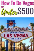 las vegas for under 500