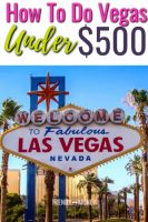 las vegas for under $500