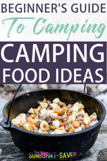 Are you looking for camping food ideas? Camping food doesn't have to be boring, icky, or expensive! A comprehensive list of easy, quick camping food ideas -