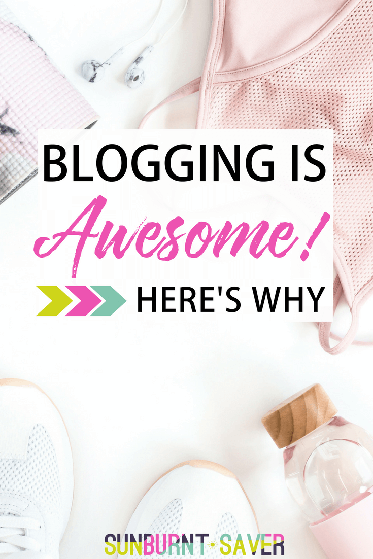 Blogging is awesome! Why? Not because you'll get rich quick (or ever), but for so many other reasons, including friendship, growth and more -