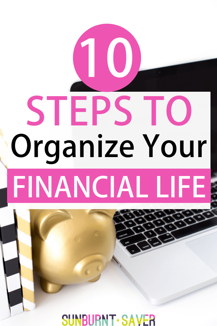Looking for ways to improve your financial life? Whether you\'re struggling with budgeting, debt repayment, saving more or something else, this step by step walkthrough of getting your financial life back on track will help! #financialfree #fire #budgeting #saving #financialfreedom #debtfree